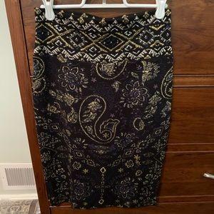Xs LuLaRoe Elegant Cassie Skirt
